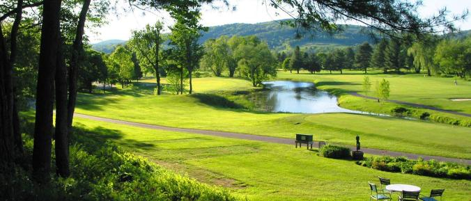 Lakeland Golf Course (one of TWO championship courses at Quechee Club) - both are considered among the best in VT.